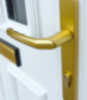 Standard gold door handle