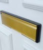 Standard gold letterbox