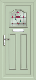 Chartwell Green Glasgow Ebro Supply Only Upvc Front Door