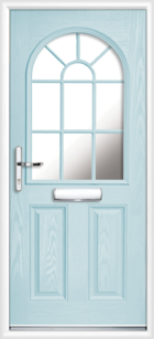 Duck Egg Blue Supply Only Lanarkshire Arched Composite