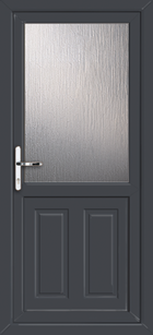 Anthracite Grey Supply Only Leicester Upvc Back Doors