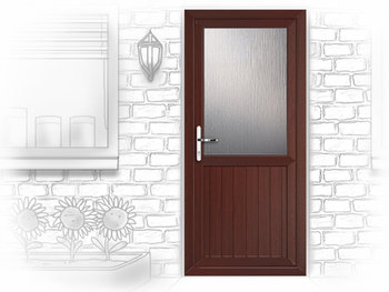 Cardiff Attina upvc back door fitted in Inverurie