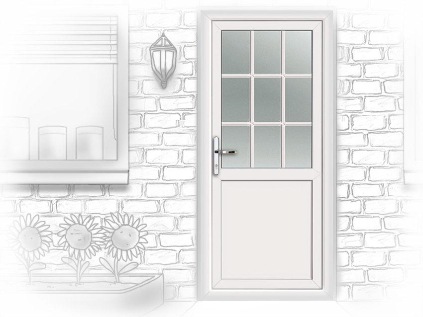 Upvc stable doors coventry for Back doors fitted