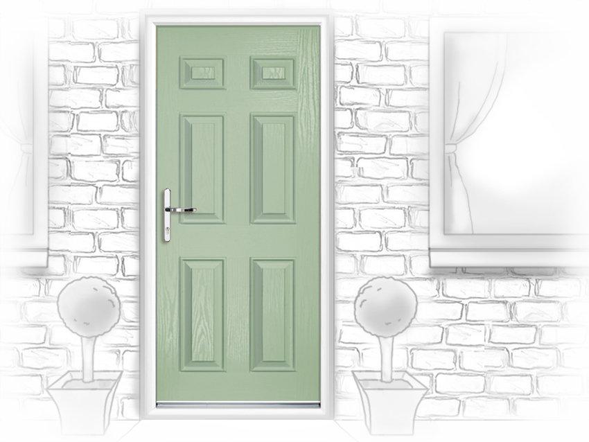 Upvc internal doors edinburgh for Back doors fitted