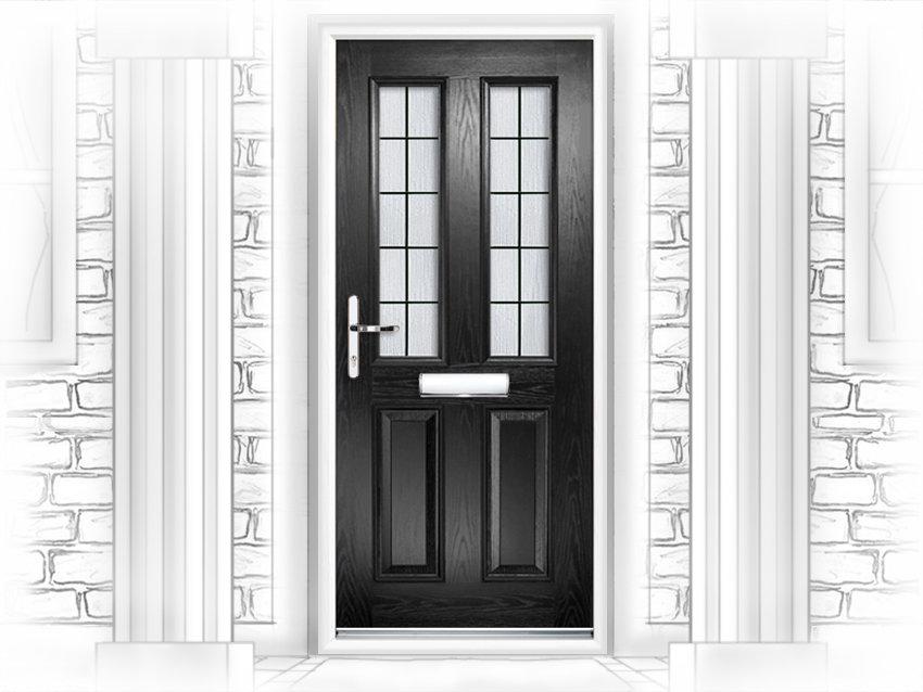 Dorset Box Lead composite front door fitted in Peterborough & Door supplier and installer in Peterborough pezcame.com