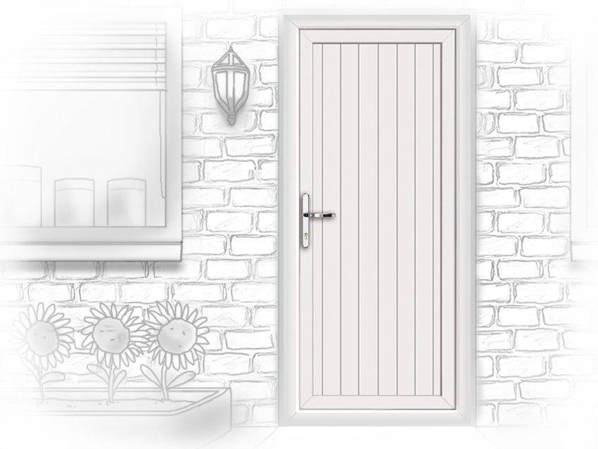 Upvc front doors sunderland for Upvc doors fitted