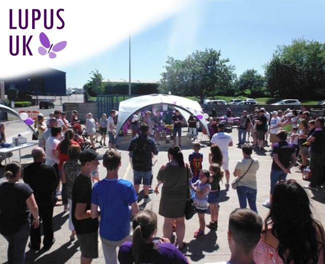 Lupus fundraising event at We Do Doors